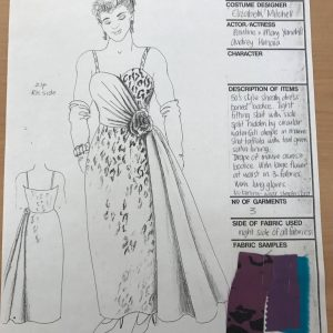 CA001147/013/0001/0010; Sweet Soul Music Costume Design Drawings