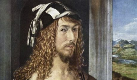 Self portrait of Albrecht Dürer