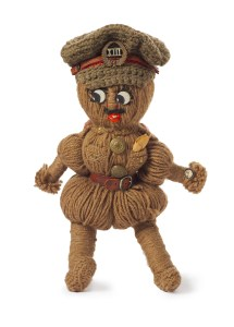 Doll, Soldier, 1914-1916, New Zealand, by Dorothy Broad. Purchased 2009. © Te Papa. CC BY-NC-ND licence. Te Papa (GH016389)