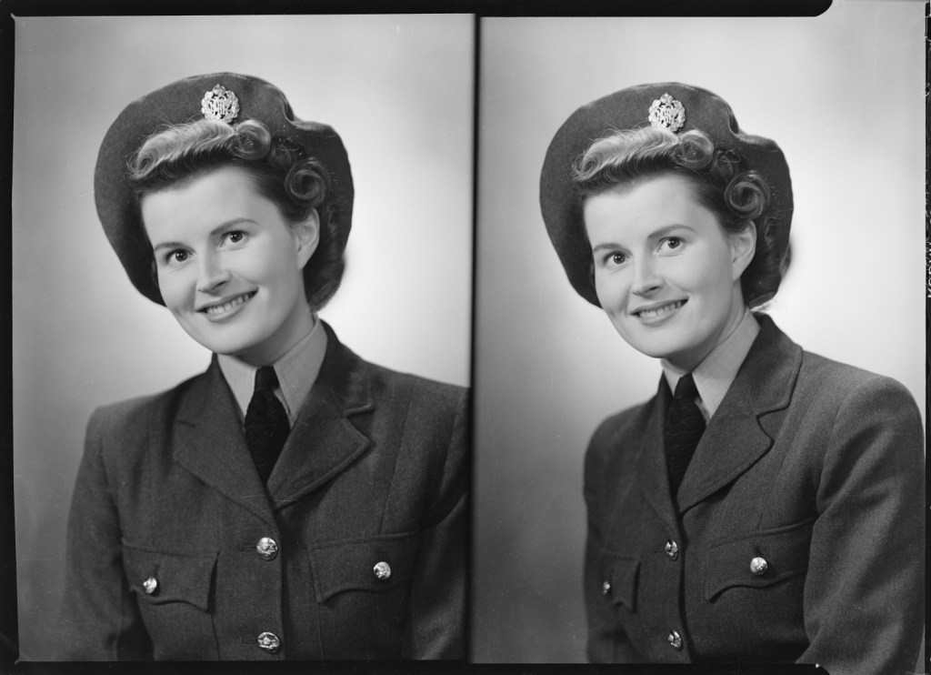 Mrs John Addison (WAAF), 1944