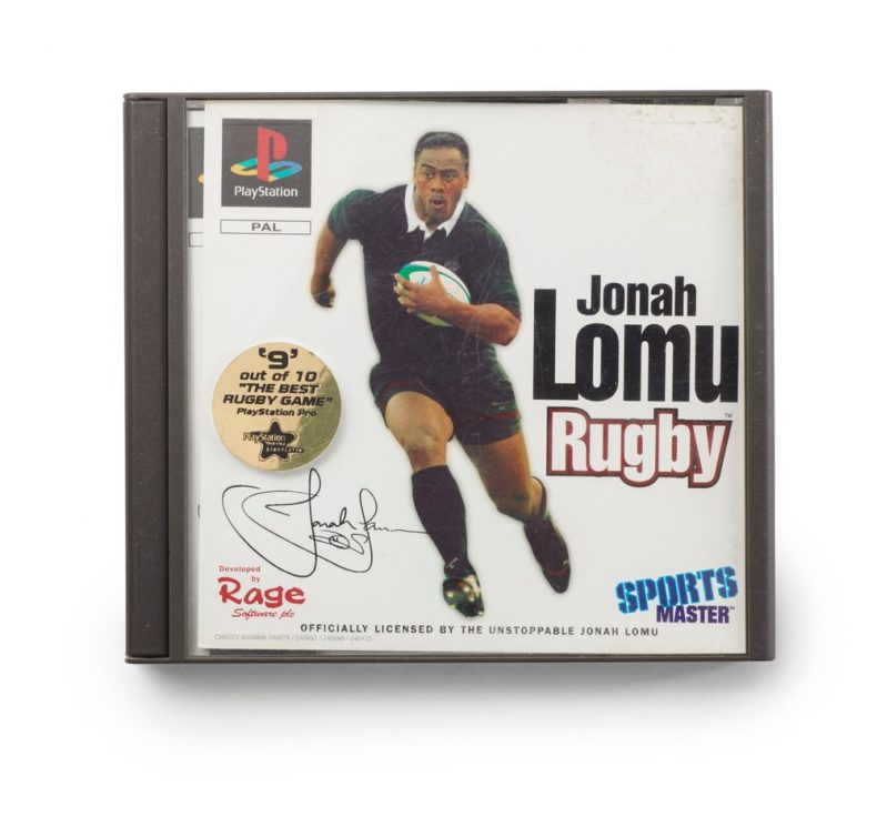 Play Station game 'Jonah Lomu'