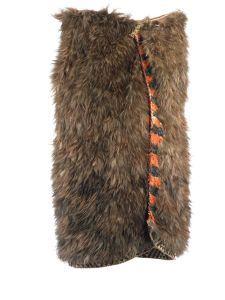 Kahu kiwi (kiwi feather cloak) named Piata, 1840-1855, Hawke's Bay, maker unknown. Gift of Judy La Marsh, 1967. Te Papa (ME011807)