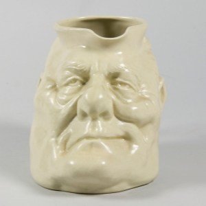 Ceramic mug featuring the likeness of Robert Muldoon's face