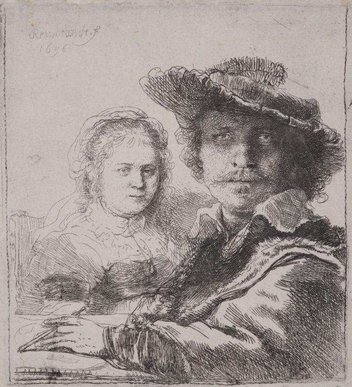 Selfportrait-with-Saskia