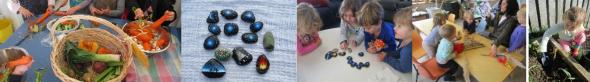 images of matariki activities done at East Harbour Kindergarten
