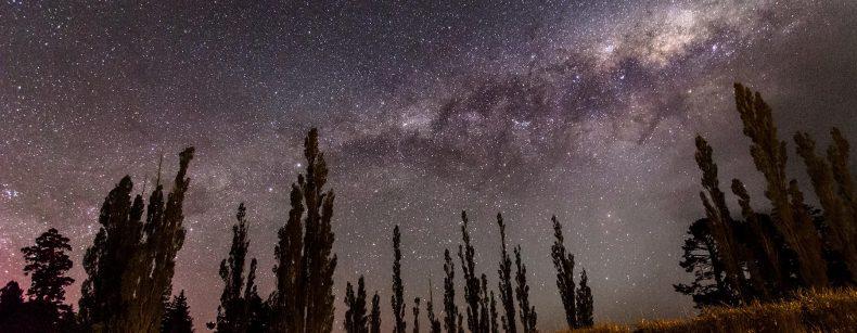 image of stars in the night sky