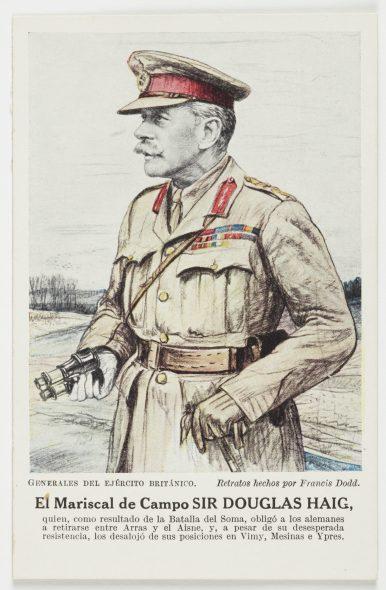El Mariscal de Campo Sir Douglas Haig