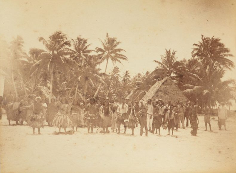 Dancing Funafuti. From the album: Views in the Pacific Islands