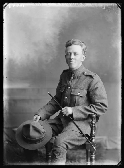 Portrait of Jack Langley Braddock
