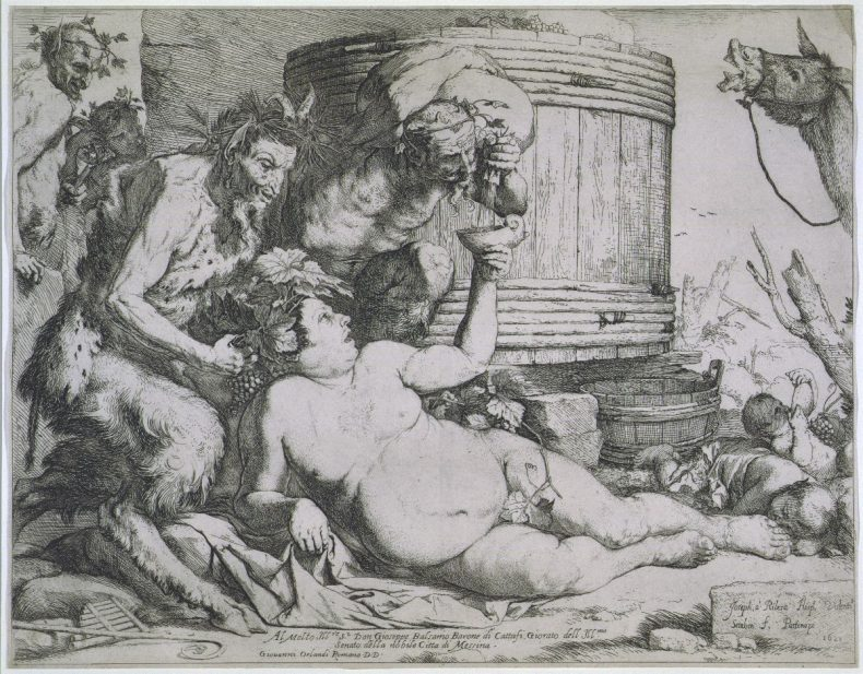 The drunken Silenus