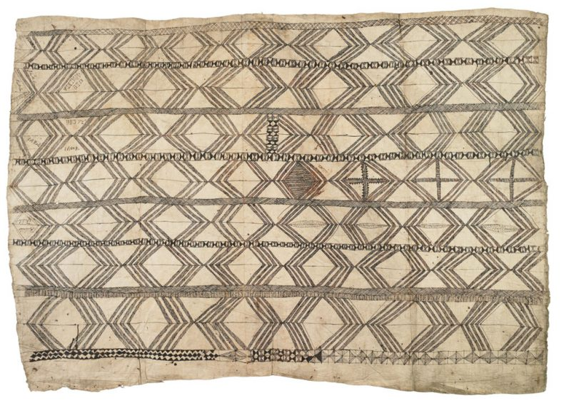 Hiapo (tapa cloth), circa 1860, Niue, maker unknown. Purchased 1988. Te Papa (FE008655)