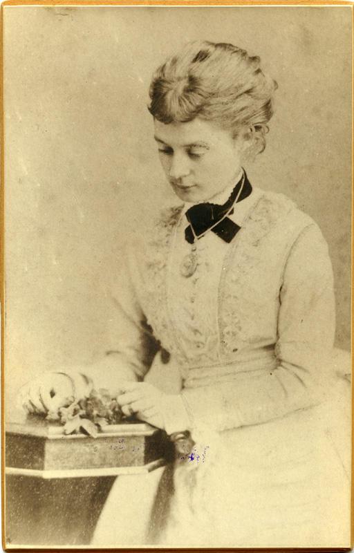 'Ellis Rowan.' 1870-1890. Photographer unknown. Puke Ariki. Accession No. PHO2008-1774.