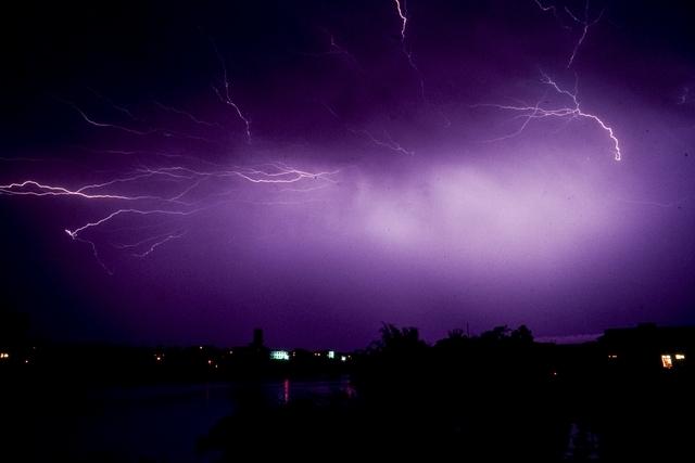 Brian Brake, China Series: Electric storm at Xin Feng, 1957-1959. Gift of Mr Raymond Wai-man Lau, 2001. Te Papa (CT.042253)