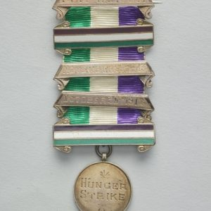 GH024772; Women's Social and Political Union Medal for Valour; 1912; Toye & Co.; silver; England