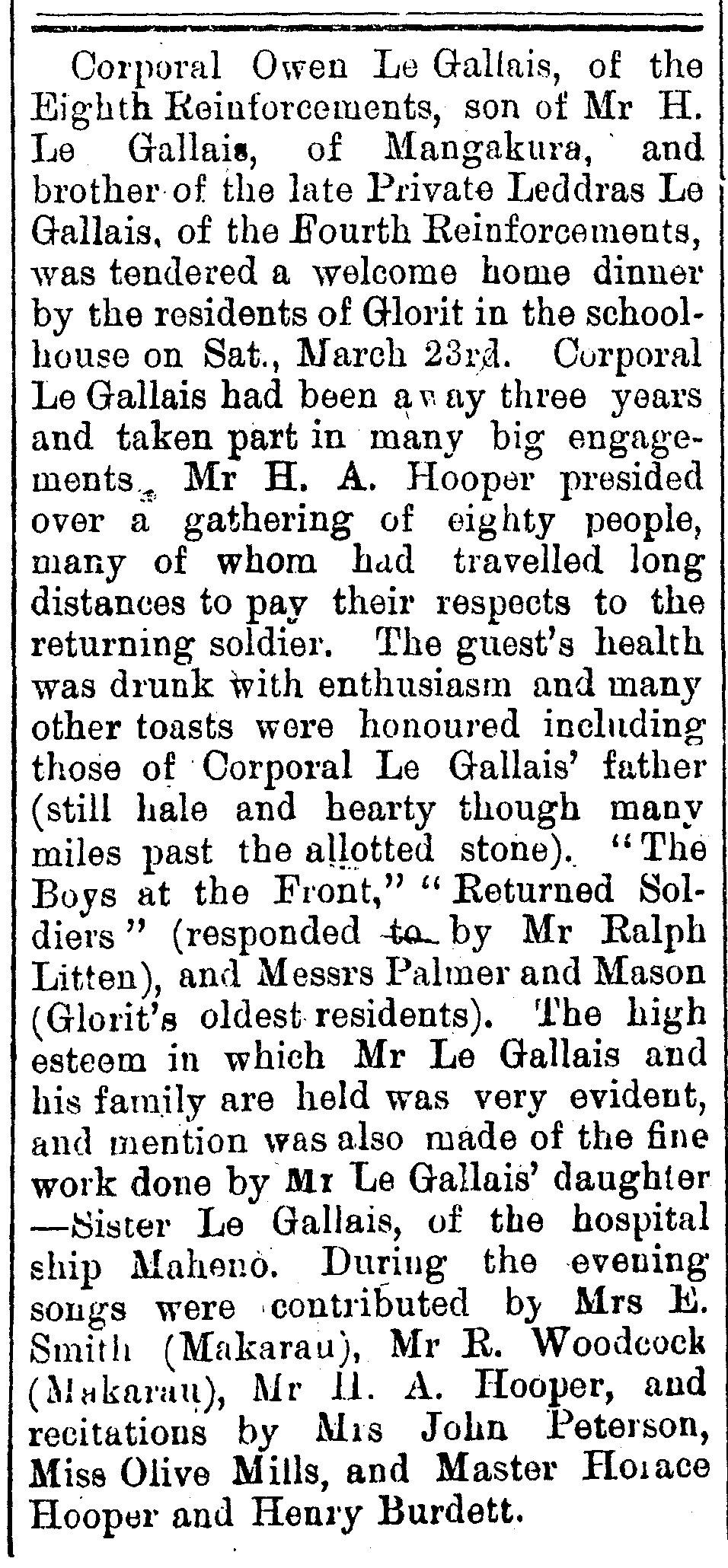 Rodney and Otamatea Times, Waitemata and Kaipara Gazette, 3 April 1918, p. 2