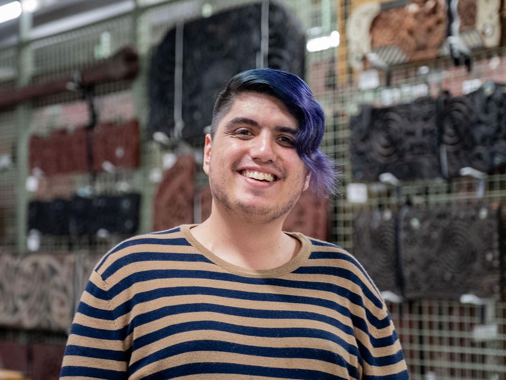 Ben Manukonga smiling