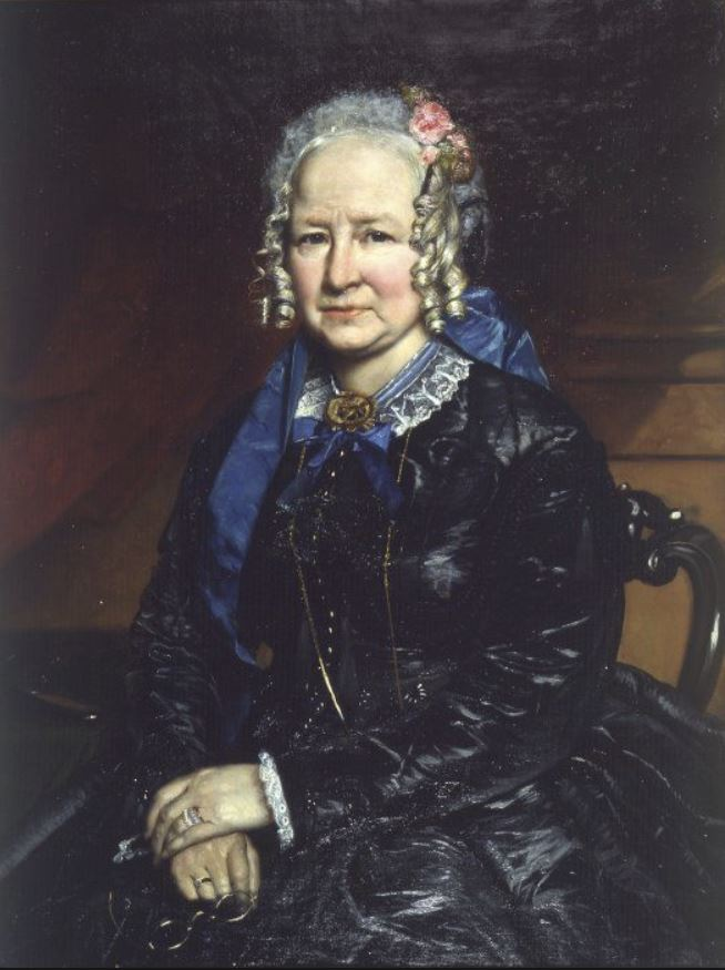 Portrait of Mary Ann Mantell