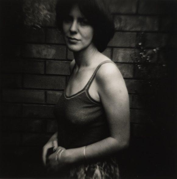 Erika, 1975, by Peter Peryer. Te Papa.