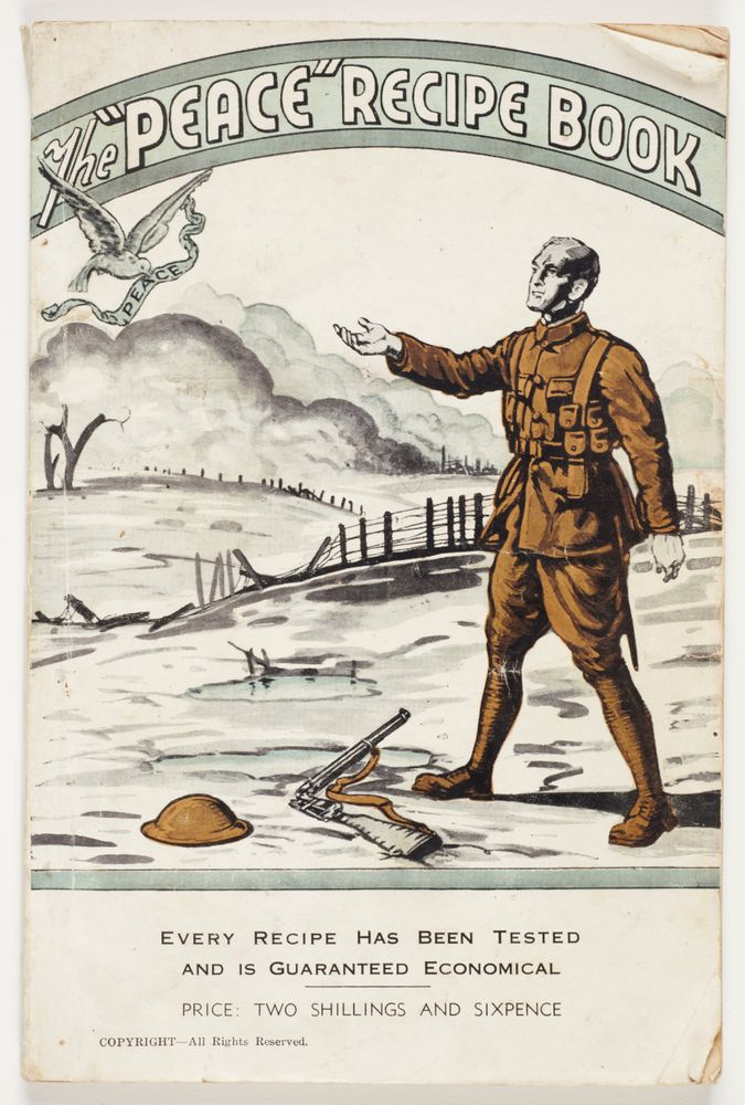 Book cover image of a man in army uniform with his hand out and a dove flying away. There is a bridge and land in the background and his hat and gun at his feet.