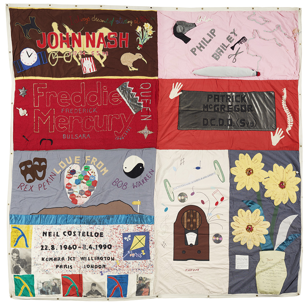 Quilt comprising of 8 parts