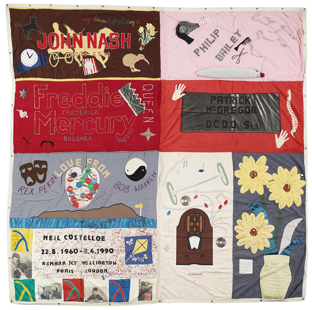 Quilt comprising of 8 parts